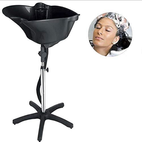WFWPY Portable Bassin de Cheveuxavec Support Lavage Laver Bol De Cheveux De Coiffure Salon Traitement Outil pour Salon De Coiffure Professionnel ou Us