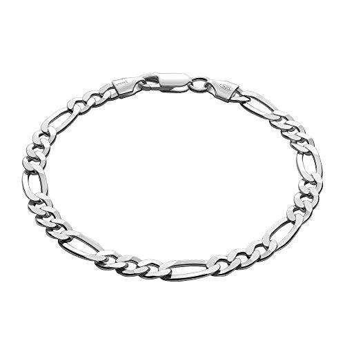 STERLL Herren Armband Sterlingsilber 925 20cm Geschenkverpackung Kleine Geschenke