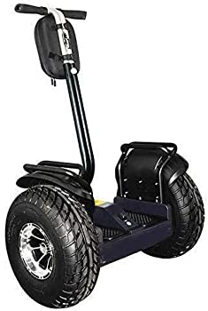 OUTSTORM 4000w/ 84v Powerful Off Road Electric Self Balance Golf Cart Vehicle / 34 Miles Range/13MPH Speed/ 8.8Ah Battery/19in Wheels  Black   Black