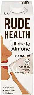 Rude Health Bebida de Almendras Ecológica (Sin Cereales) - Vegano, Vegetariano, Paleo - Paquete de 6 x 1000 ml