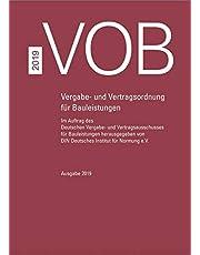 VOB Gesamtausgabe 2019: Vergabe- und Vertragsordnung für Bauleistungen Teil A (DIN 1960), Teil B (DIN 1961), Teil C (ATV)