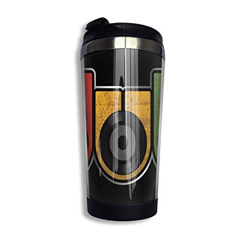 DJNGN Dub Versión original Sudadera con capucha & pound; & uml; 1 & pound; Taza de viaje de café Taza Vaso aislado al vacío de acero inoxidable 13.5 oz