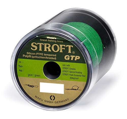 Schnur STROFT GTP Typ R Geflochtene 250m grün, R5-0.250mm-11kg