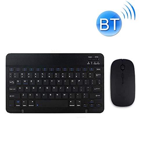 MOYOFEE JYMD ACDD YS-001 Tablet Thufts Universal Mini Wireless Bluetooth Teclado, Estilo: con Ratón Bluetooth (Color : Black)