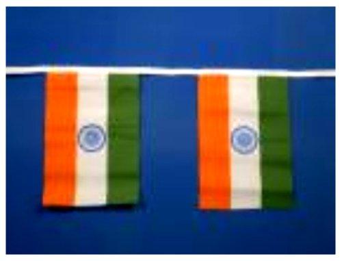 India Banderole 9metres/30 m - 30 fanions