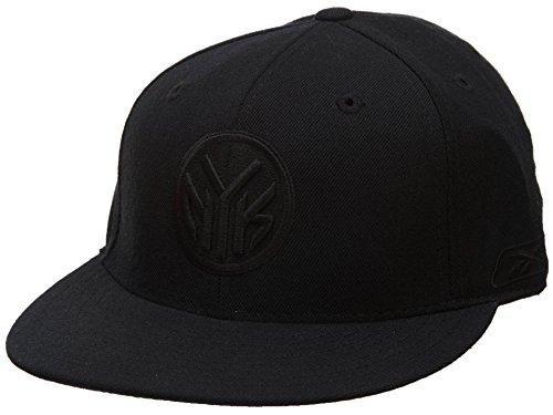 Reebok–Camiseta de los New York Knicks Fitted Sombreros para Hombre Estilo: hat232-black tamaño: 77/8