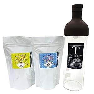 きごころ 和紅茶 アイスティー ボトル セット 紅茶パック 2種類 各8g×5個