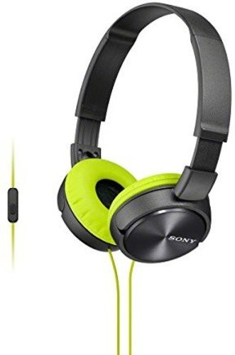Sony MDRZX310AP Over-Head Headphones without Mic (Grey)