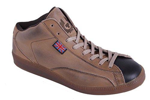 Belstaff Damen Schuhe Sneaker Schnürschuhe Echtleder Beige Gr. 37#19 (37)