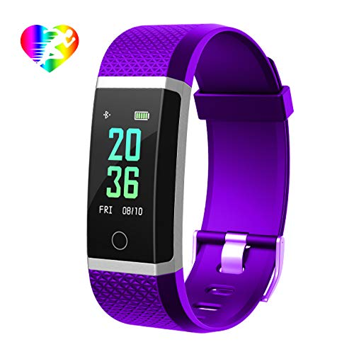 Orologio Fitness Tracker Smartwatch Cardiofrequenzimetro da Polso Impermeabile IP67 Calorie Sport Braccialetto Activity Tracker Android iOS Donna Uomo Contapassi per iPhone Huawei Xiaomi