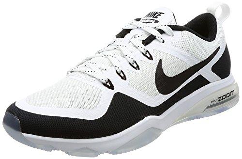 Nike Everyday Plus Cushion Crew Training Socks (6 Pair) (White, Large)