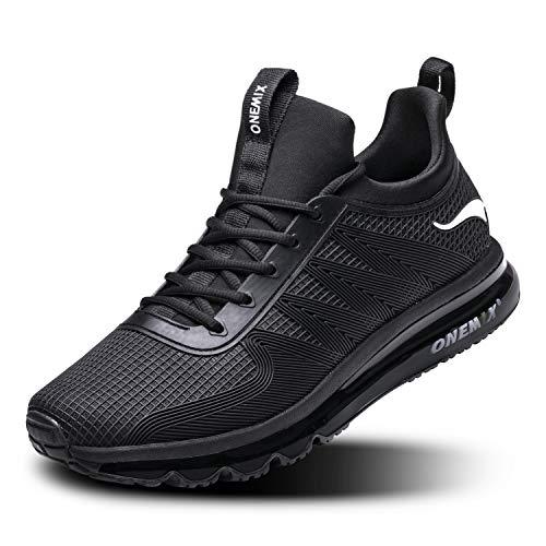 ONEMIX Zapatillas de Running para Hombre, Zapatos Gimnasio Deportivas Correr Sneakers para...