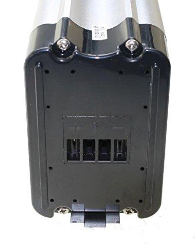 41M+EIWfEOL - Akku 36V 10,4Ah Lithium Ionen Ersatzbatterie Rahmenakku für E-Bike Pedelec Elektrofahrrad z.B. Prophete Real
