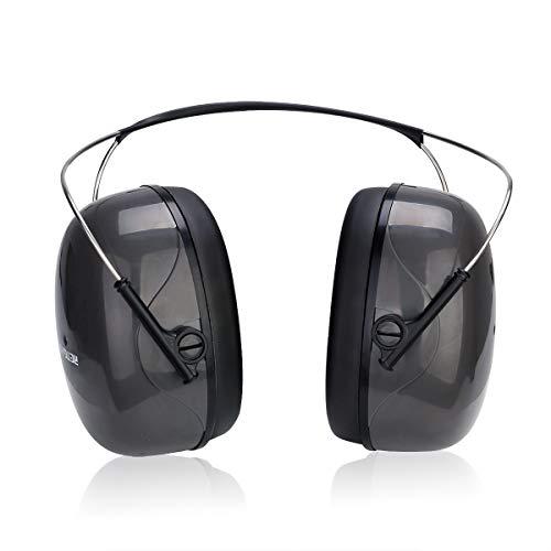 Retevis EHN002 Cascos Antiruido SNR 32dB Cascos Proteccion Auditiva con Esponja Suave con Memoria Cascos Ruido para Disparar, Cortar, Jardinería, Construcción, etc Orejeras Antiruido (1 Pieza)