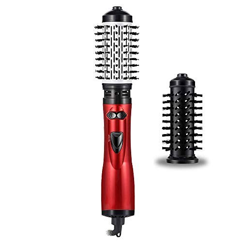 Price comparison product image Rotating Hair Dryer Brush,  Hot Air Spin Brush Curling for Styling, One Step Hair Dryer & Volumizer 3 in 1 Feature Anti-scald Negative Ion Hair Straightener Brush with Smooth Frizz and Ionic Technology