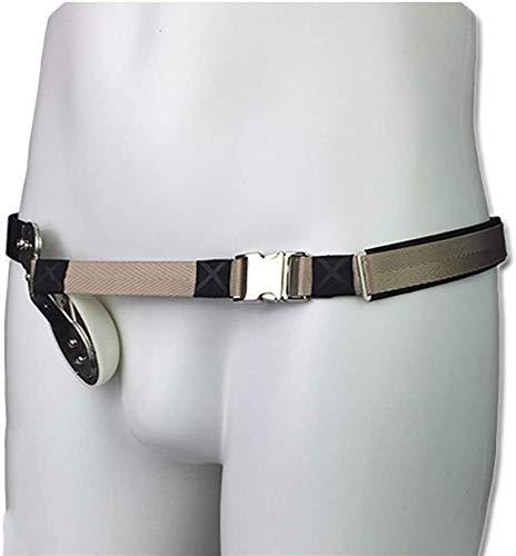 NIANXINN Adulto Hernia cinturón, Correa de Tratamiento Médico Hernia, inguinal/Hernia inguinal braguero Cinturón de Apoyo de la Hernia