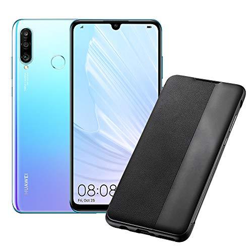Huawei P30 Lite (Crystal) Smartphone + cover, 4GB RAM, memoria 128 GB,...