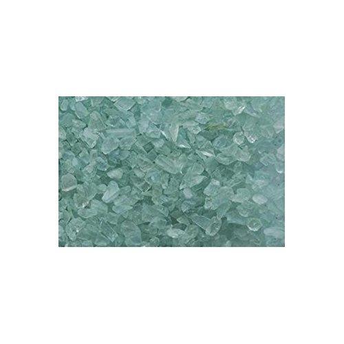 Grains de verre turquoise
