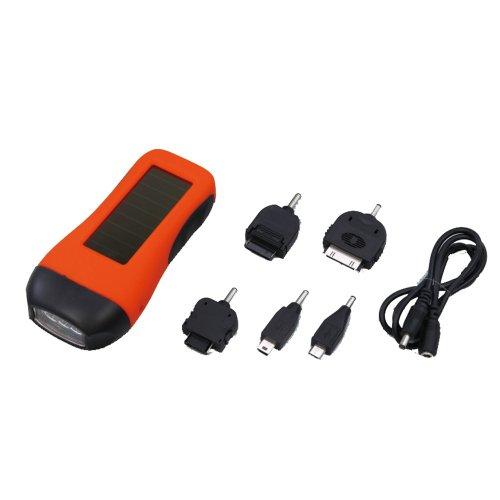 アーテック ソーラー充電器 手回しソーラー携帯充電器 74261