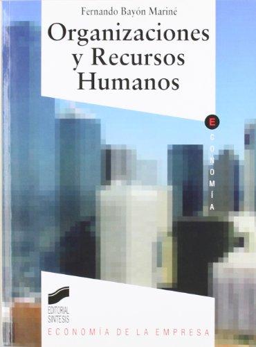 Organizaciones y recursos humanos: 5 (Síntesis economía. Economía de la empresa)