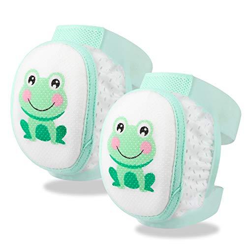 HIFOT Baby Knieschoner krabbeln, Anti-Rutsch Baby Mädchen Jungen Krabbelschoner Protektoren Kleinkinder Krabbelhilfe Knieschützer