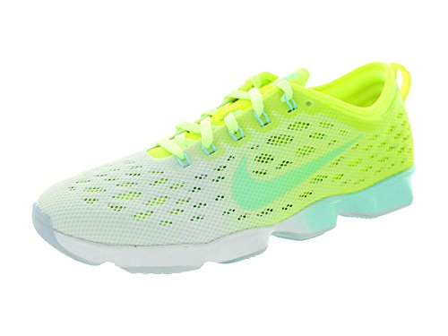 Nike Running W Zoom Fit Agility Volt/Artisan Teal-Liquid Lime-White 36m