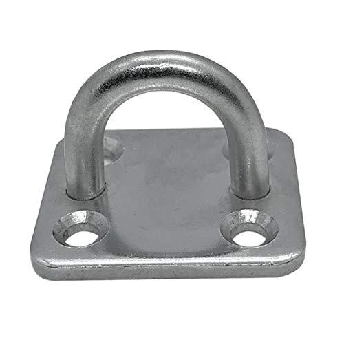 Gazechimp Square Pad Eye Plate 304 Marine Bootsbeschläge Aus Edelstahl