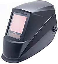Antra True Color Huge Viewing, Super Wide Shade Range 4/5-14 Auto Darkening Welding Helmet A77D, for TIG, MIG/MAG, MMA, Plasma, Grinding, Solar Power w Lithium Backup, 6+1 Extra lens covers