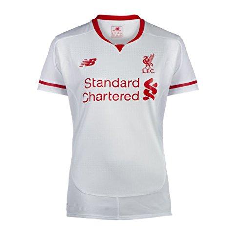 New Balance Mujeres del Liverpool FC de Manga Corta–Blanco, 12