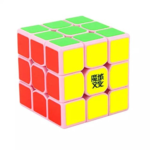 Formula? MoYu TangLong 3x3x3 Speed Cube Magic Cube - Pink