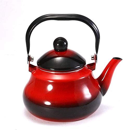 Bouilloire Pratique Induction Enamel Enamel Enamel Théière Cool Chinoise Médecine Chinoise Kettle Restaurant Tea Gaz UOMUN (Size : 2.5L)