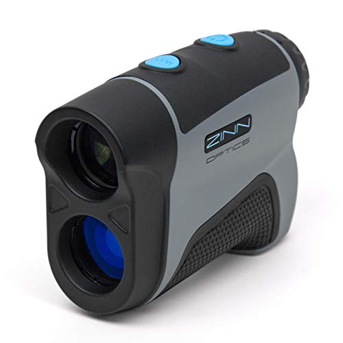 Zinn Optics TS600 Golf Rangefinder – 600 Yard Laser Range Finder with Target Sensor