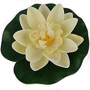 Artificial and Dried Flower Manualidades Mariage Flores Plants Water Lily Lotus Artificial Silk Plastic Flowers Fake Bouquetfor Wedding Decoration