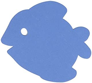 Teaching Tree Paper Cut-Outs - Blue Fish - 32 Count