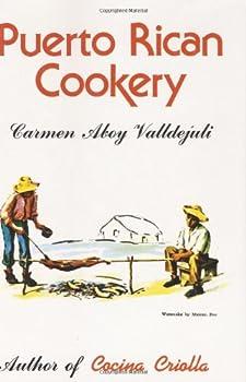 Hardcover Puerto Rican Cookery Book