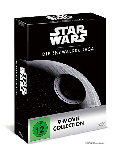Star Wars 1-9 - Die Skywalker Saga DVD Edition