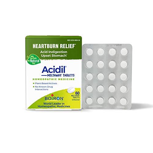 Boiron Acidil Indigestion Medicine for Heartburn and Acid Reflux