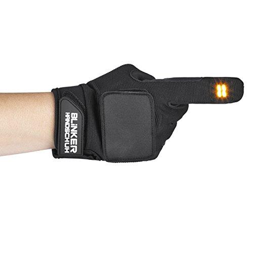 Blinker Handschuh 0500 Handschuhe Schwarz lang XL/XXL - 3