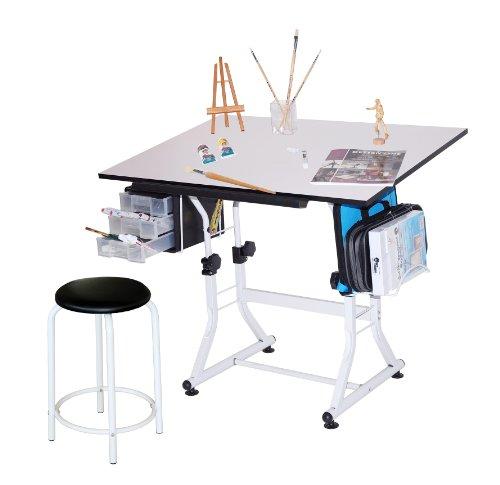 Martin universal design ashley hobby stool art table, white