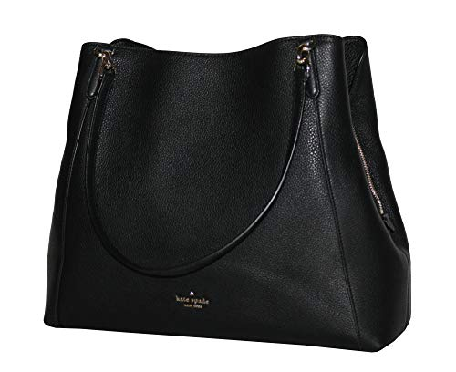 Kate Spade IRG Triple Compartment Shoulder Tote Leather Large Handbag