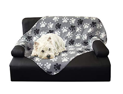 Nobby 60874 Hundedecke Classic Pippa grau L x B: 100 x 150 cm, L, grau