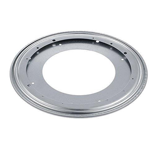"""Neoteck Placa Giratoria de 360 Grados Giro Turntable 12"""" o 300 mm Rodamiento Giratorio para Caleidoscopios Servidores de Mesa Exhibición de Ferias Comerciales"""