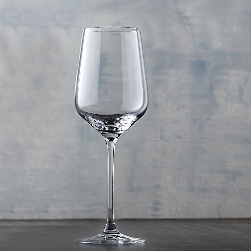 Wine Enthusiast Fusion Infinity Chardonnay/Chablis Wine Glasses, Set of 4
