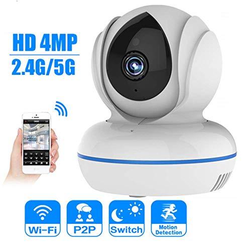YA Caméra IP 4MP Full HD WiFi 2.4G / 5G WiFi Baby Monitor Caméra de Surveillance de Surveillance vidéo Pan/Tilt