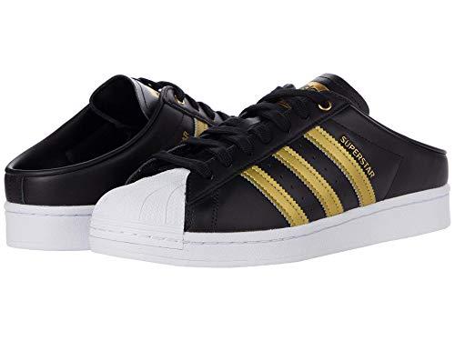 adidas Superstar Mule Core Black/Gold Metallic/Footwear White 11 B (M)