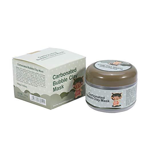 100g Gesichtsmaske, Clay Mask, Peel Off Mask Blasenmaske Blasen Hautpflege Maske Mud Whitening Feuchtigkeitsspendende Anti Aging Mask