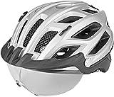 KED HELMETS Covis Lite - Casco para Bicicleta de montaña o Bicicleta de montaña, Unisex, Color Negro Mate, M 52-58 cm