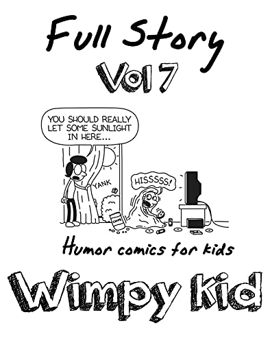 Humor comics for kids Wimpy Kid Full Story: Funny Wimpy Kid Full Story Vol.7 (English Edition)
