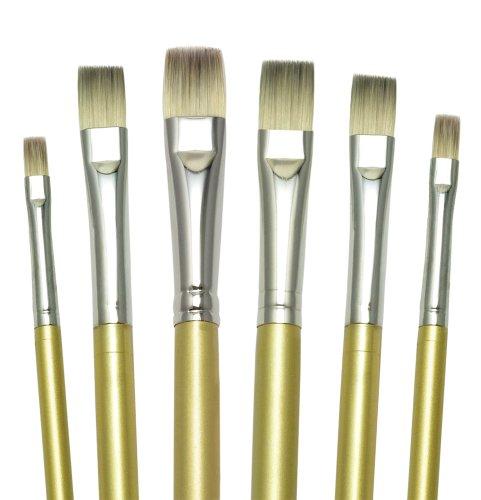 Royal and Langnickel Fusion Shader - Set di pennelli, confezione da 6 pezzi