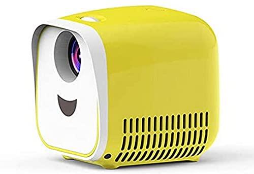 FDGSD Proyector L1, proyector de Video portátil para Cine en casa 1080p, Reproductor Multimedia hdmi/USB, Regalos de Alta Gama